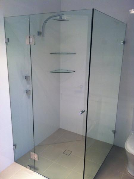 Bathroom Window Glass